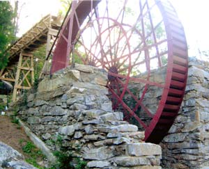 Russell Waterwheel from the pit area