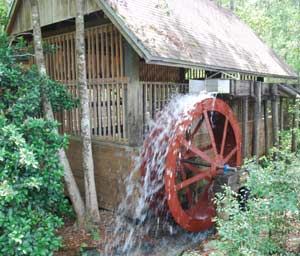 Blackwater Park Fl Waterwheel