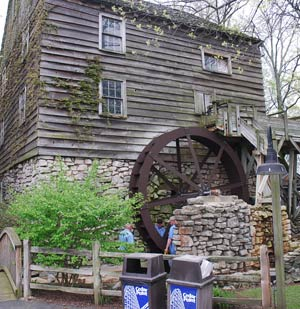 Cedar Point Park Waterwheel