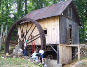 Francis Waterwheel Restoration