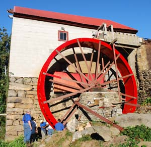New Guilford Mill Waterwheel