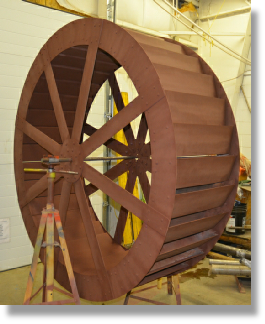 6ft DIY Waterwheel