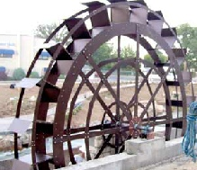Caldwell City Urban Project  ID  20ft Waterwheel Factory