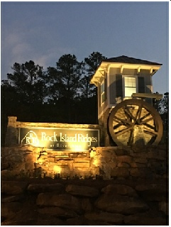 Rock Island Ridge Estate Waterwheel