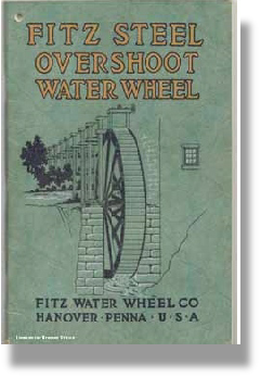 Fitz Watewheel booklet on waterwheel