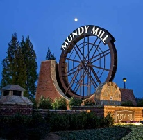 Mundy Mill Entrance Sign  NC 18ft