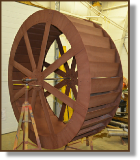 6ft Aluminum Waterwheel