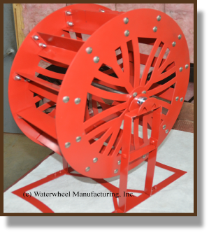 Unique Design 2ft Waterwheel